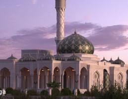 نمای خارجی مسجد