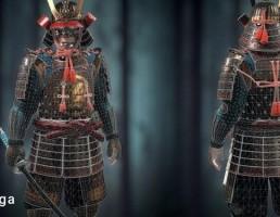 کاراکتر سامورایی ژاپنی