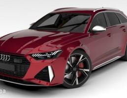 آئودی مدل RS6 سال 2020