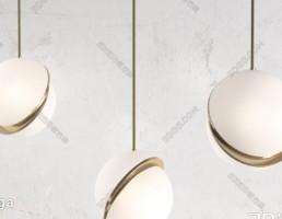 مدل سه بعدی لامپ آویز