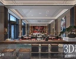 صحنه داخلی سالن ضیافت سبک چینی