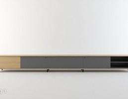 میز تلویزیون چوبی
