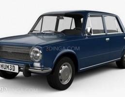 ماشین فیات 124 سال 1972