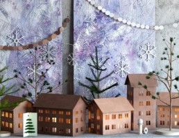مجموعه تزیینی برای کریسمس
