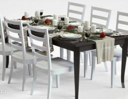 میز + صندلی نهارخوری