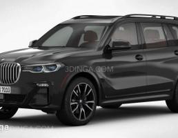 ماشین BMW مدل X7 سال 2019