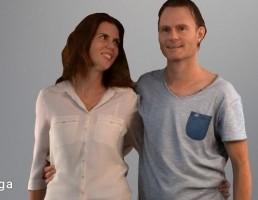 کاراکتر  لورا و کریس