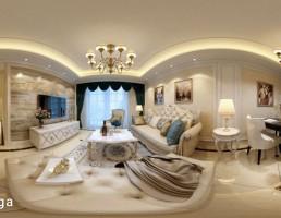 اتاق نشیمن سبک اروپایی