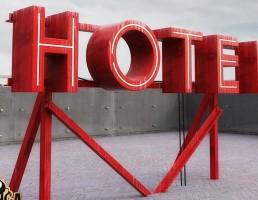 تابلو نما هتل