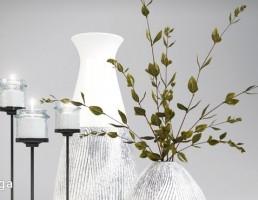 گلدان + شمعدان