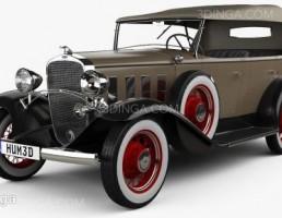 ماشین شورلت سال 1932