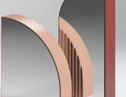 مدل سه بعدی آینه رومیزی