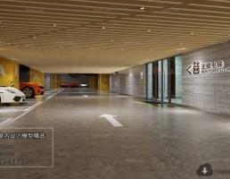 صحنه داخلی پارکینگ