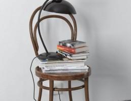 میز + کتاب + آباژور