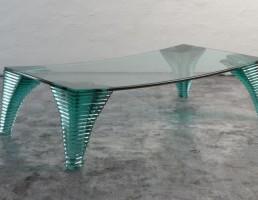 میز شیشه ای