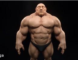 مرد بدنساز