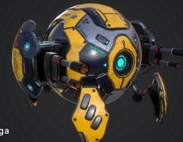 ربات توپی