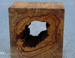 تندیس چوبی تزیینی