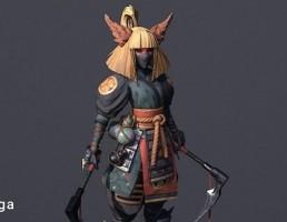 کاراکتر شینوبی جنگجو