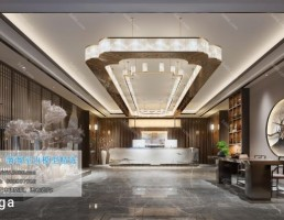 لابی هتل سبک چینی