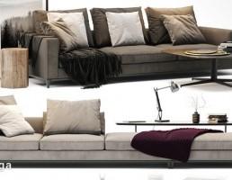 ست کاناپه راحتی Minotti