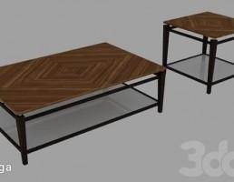 میز عسلی + کنار مبلی