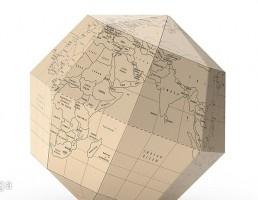 نقشه کروی رومیزی