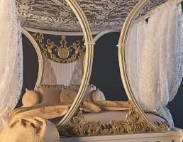 تختخواب کلاسیک Riva