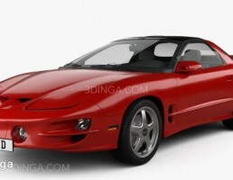 ماشین Pontiac مدل Firebird Trans Am سال 1998