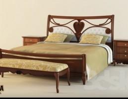 مبلمان کلاسیک اتاق خواب ELEONORA