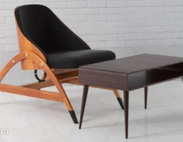 صندلی راحتی + میز تحریر