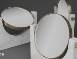 آینه سنگی حمام