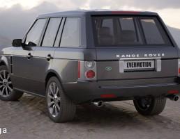 ماشین Range Rover
