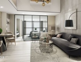 صحنه داخلی فضای آپارتمانی