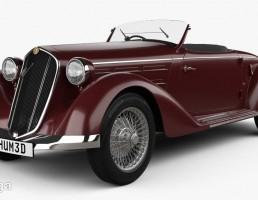 ماشین آلفا رومئو مدل 6C سال 1935