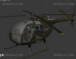 هلیکوپتر نظامی oh6