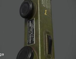 رادیو بی سیم WW2 BC 611
