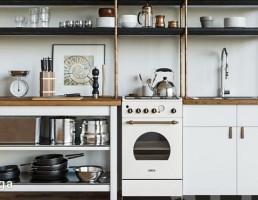 مجموعه ایی از وسایل آشپزخانه کلاسیک