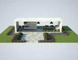 مجموعه طراحی باغچه