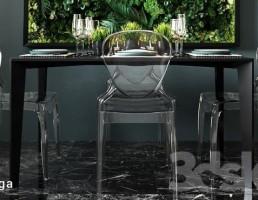 ست میز و صندلی نهارخوری + تابلو دیواری
