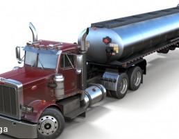تریلر سوخت Peterbilt 359