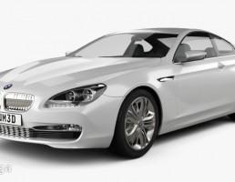 ماشین BMW مدل 6 Series Coupe سال 2010