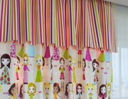 پرده برای اتاق کودک