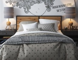 مدل تختخواب قدیمی Patina