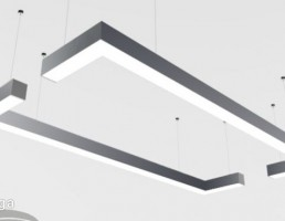 چراغ سقفی خطی
