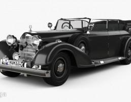 ماشین مرسدس بنز مدل 770K  سال 1936