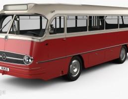 اتوبوس مرسدس بنز مدل O 321 H سال 1954