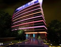 نمای خارجی ساختمان مدرن