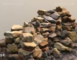 توده ای از سنگ ها