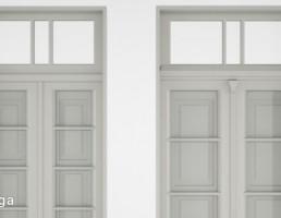 درب و پنجره کلاسیک